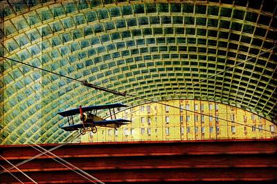 Photograph - There's A Biplane In The Kimmel by Alice Gipson