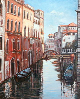 Painting - There's No Place Like Venice by Claudia Croneberger