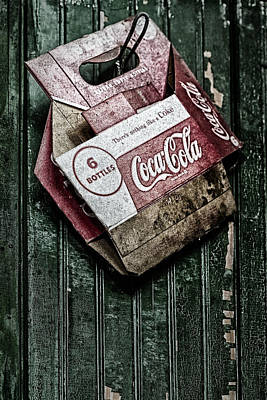 Theres Nothing Like A Coke Art Print by Susan Candelario