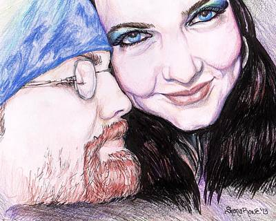 Drawing - There's Nothing Like You And I by Shana Rowe Jackson