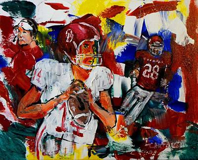 Ap Painting - There's Only One...oklahoma by Larry Carter
