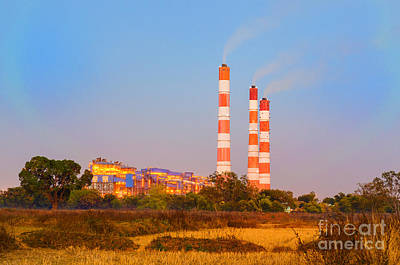 Power Photograph - Thermal Power Plant In Countryside by Image World