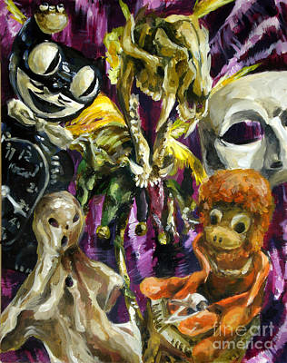 Cit Painting - These Are A Few Of My Favorite Things by Stefanie Caro