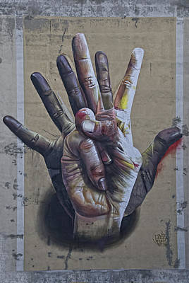 These Are The Hands . . . Art Print