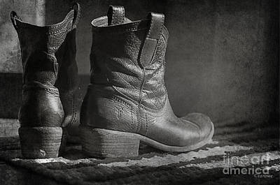 Photograph - These Boots by Terry Rowe