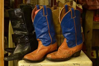 Photograph - These Boots Were Made For Walking by Ricardo J Ruiz de Porras