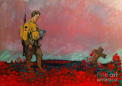 Painting - They Called It Passchendaele by Michelle Deyna-Hayward