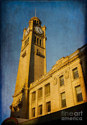 Photograph - They Don't Build Them How They Used To - Clock Tower Of Central Station Sydney Australia by David Hill