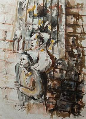 Painting - They Were Once Yeshiva Bochers by Esther Newman-Cohen