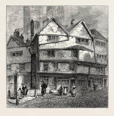 Thieving Lane 1808, London, Uk Art Print