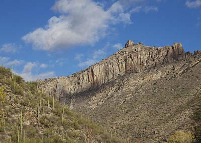 Sabino Photograph - Thimble Peak In Sabino Canyon by Elvira Butler