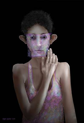 Digital Art - Thin Disguise by Kerry Beverly