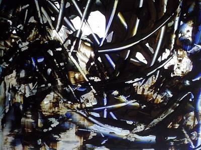 Abstract Art Painting - Thin Ice by Karen Lillard