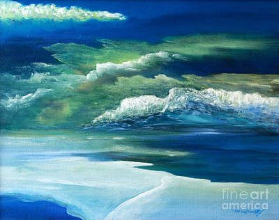 Painting - Thin Ice by Myra Maslowsky