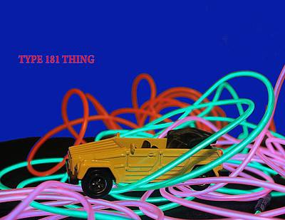 Photograph - Thing Art by Dart and Suze Humeston