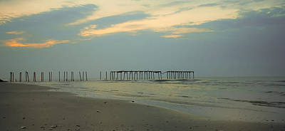 Pier Photograph - Things That Aren't There Anymore - 59th Street Pier Oc by Bill Cannon