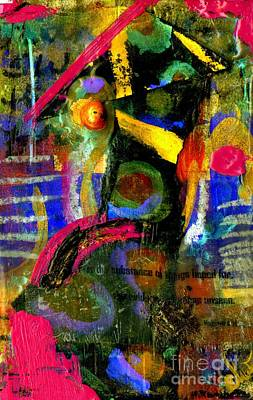 Mixed Media - Things To Come by Angela L Walker
