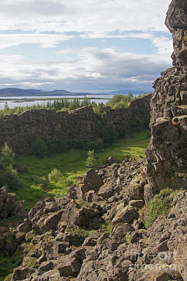 Photograph - Thingvellir Iceland by Rudi Prott