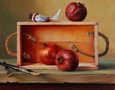 Think Outside The Box Print by Dan Petrov