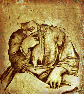Digital Art - Thinker  No.3 by Russ Murry