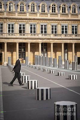 Thinking - At Palais Royal Art Print by Brian Jannsen
