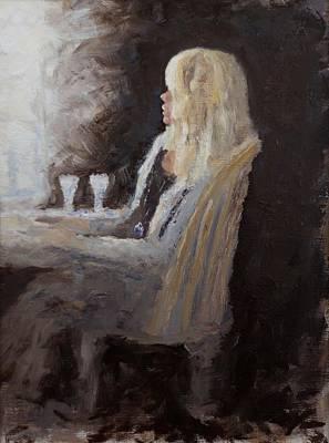 Painting - Thinking Back by Edward White