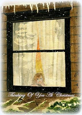 Painting - Thinking Of You At Christmas by Melly Terpening