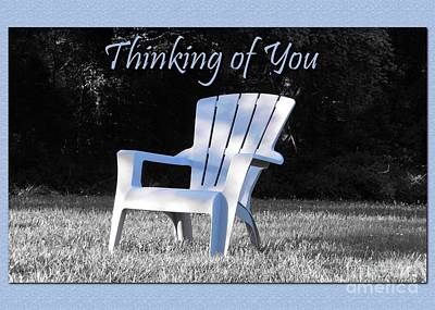 Digital Art - Thinking Of You Waiting by JH Designs