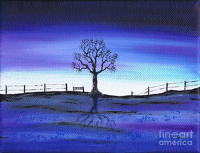 Painting - Thinking Place by Kenneth Clarke