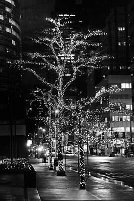 Photograph - Third Avenue Lights by Dave Beckerman