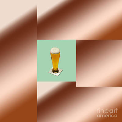 Installation Art Photograph - Third Beer On The Wall by Tina M Wenger