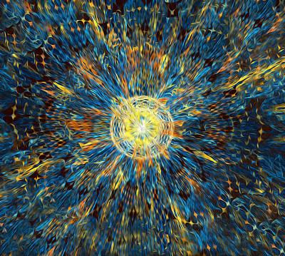 Digital Art - Third Eye Opening by Radoslav Nedelchev