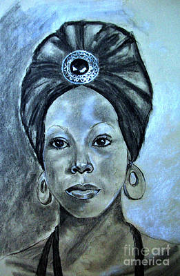 Drawing - Third Eye by Susan M Fleischer