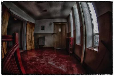 Photograph - Third Floor Girl's Bathroom by Kimberleigh Ladd