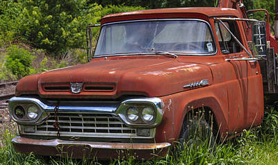 Photograph - Third Generation Ford F 350 by Robert J Andler