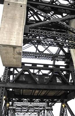 Third Street Bridge Vertical Art Print by Studio Janney