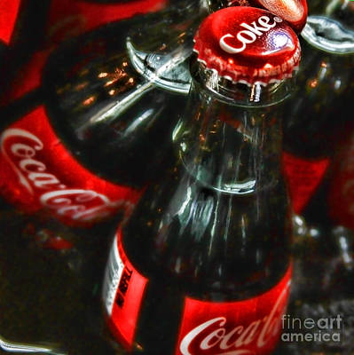 Bottling Company Photograph - Thirst Quencher By Diana Sainz by Diana Sainz