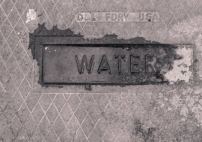 Message Art Photograph - Thirst  by Steven Milner