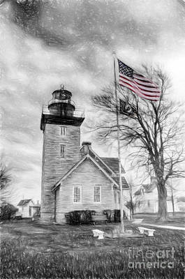 Photograph - Thirty Mile Point Light by Jim Lepard