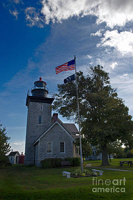 Photograph - Thirty Mile Point Lighthouse by David Arment