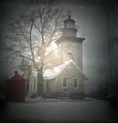 Cottage Photograph - Thirty Mile Point Lighthouse Ttv by Michael Allen