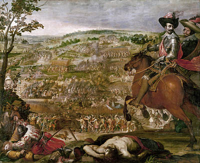 Vicente Painting - Thirty Years War, 1622 by Granger