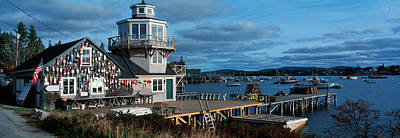 New England Village Photograph - This Is A Lobster Village In New by Panoramic Images