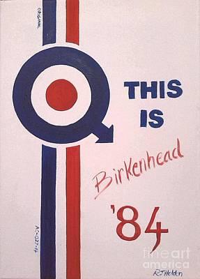 This Is Birkenhead Original by Richard John Holden RA