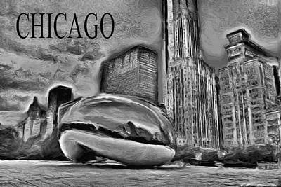 Painting - This Is Chicago by Ely Arsha
