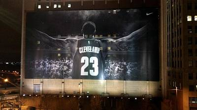 Athletes Royalty-Free and Rights-Managed Images - This is Cleveland by Wendy Gertz