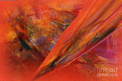 This Is It   Abstract   Print by Sherri  Of Palm Springs