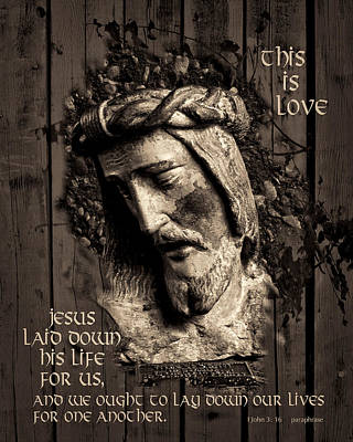 This Is Love Art Print by Priscilla Burgers
