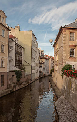 Balloon Flower Photograph - This Is Not Venice by Sergey Simanovsky