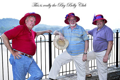 Big Belly Photograph - This Is Really The Big Belly Club by Randall Branham